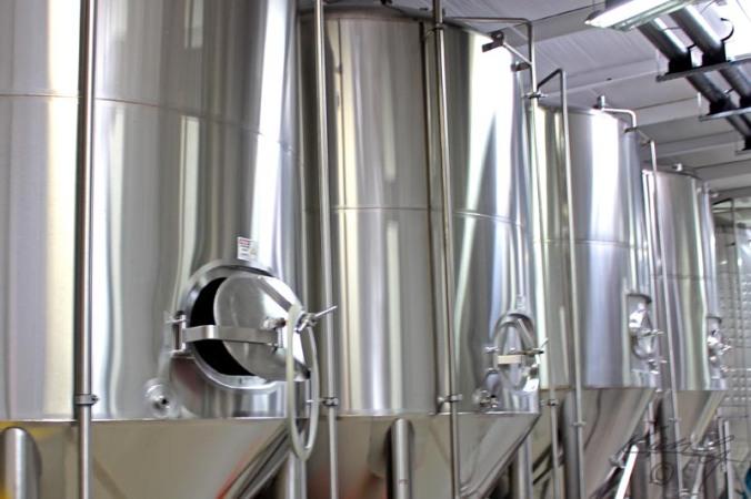 New Holland Fermentation Tanks