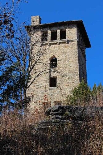 The water tower at Ha Ha Tonka