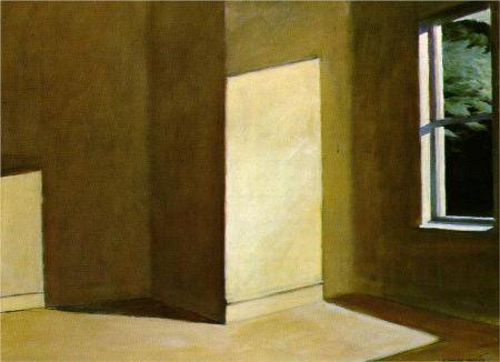 Sun in an Empty Room_Edward Hopper