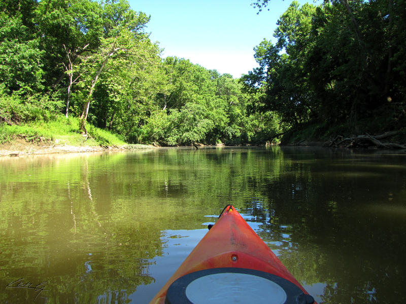 How to Paddle Upstream